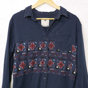 on the byas Shirts - On the Byas | long sleeve button shirt | tribal